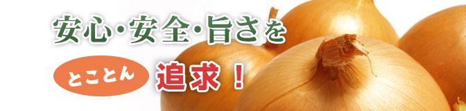 国産有機減農薬玉ねぎを使用!